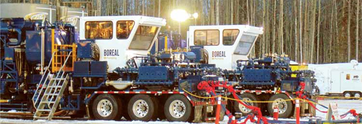 Boreal Twin Fluid Pumpers